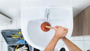 blocked drain cleaner