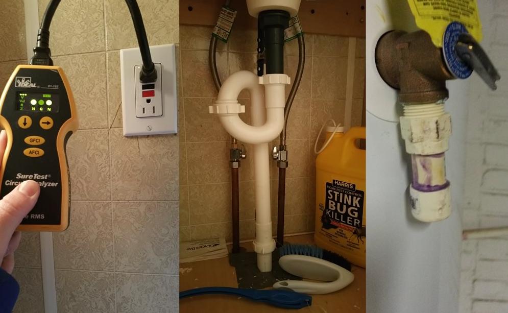 professional plumbing inspector